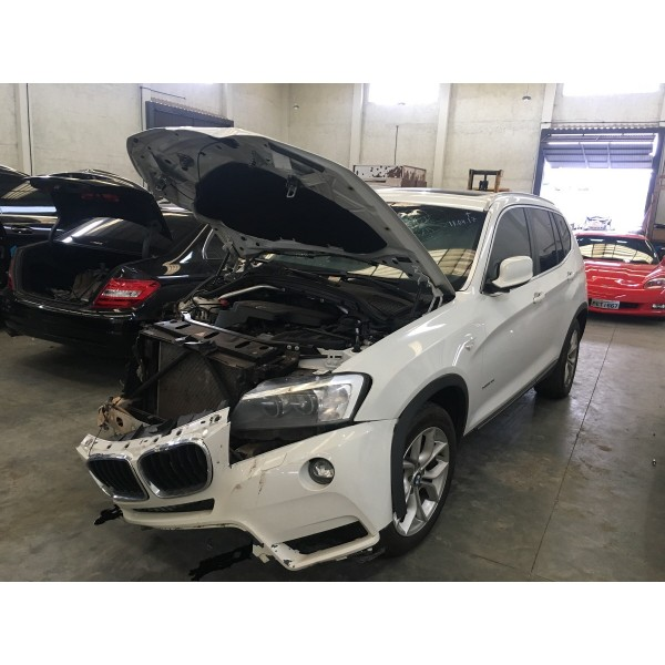Sucata Bmw X3 2.0 Turbo 4cc 2013
