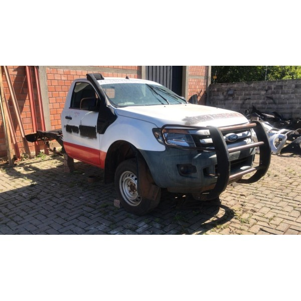 Ford Ranger 2015 Motor Caixa Cambio Kit Airbag Painel